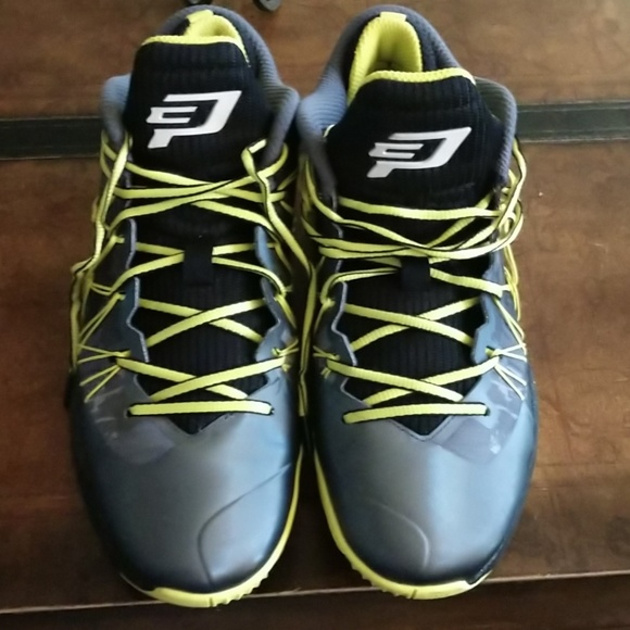 Jordan Other - Nike Air Jordan CP3 VII 7 AE BG Dark Grey/White-Bl
